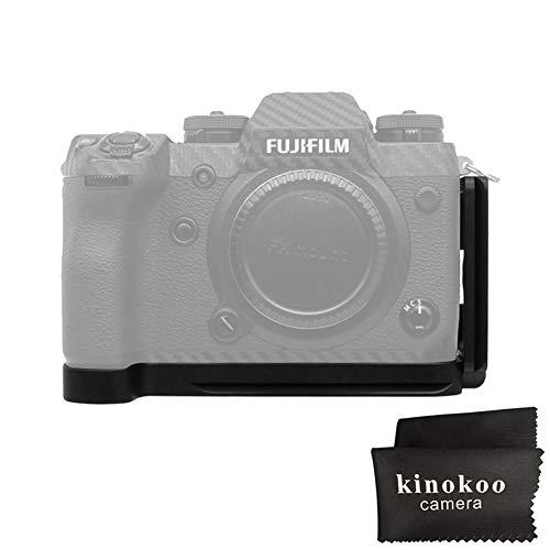 kinokoo L-Platte für Fuji X-H1 Schnellwechselplatte Fujifilm X-H1 Halterung Griff -