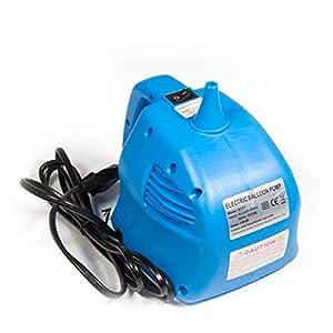 Folat 04934 Bomba de aire eléctrica para globo, color azul