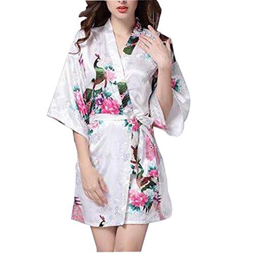 Nightgown Short Nightdress Damen Nachtwäsche Soft And Comfortable Mehrfarbig 01