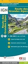 Route des grandes alpes par Institut géographique national