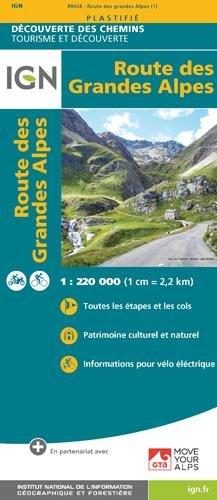 Route des grandes alpes par Collectif