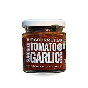 The Gourmet Jar Sundried Tomato Garlic Spread (with Naga Chilli), 190 g