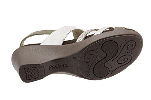 De Das Piesant Couro 6859 Confortavelmente Sapato Ampla Palmilhas Beig Mulheres Sandália Conforto Removíveis Sapatos gzdwaaA4q