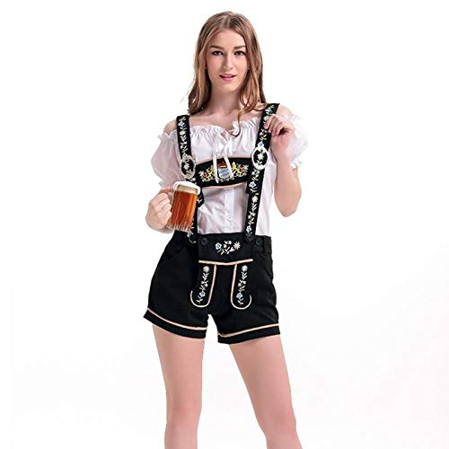 Bar Wench Kostüm - Sexy Frauen Deutsch Beer Maid Wench Dirndl Kostüm Oktoberfest Bayerische Oktoberfest Girl Bar Uniformen@XL_Oktoberfest Kostüme