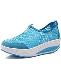 NEWZCERS - Zapatillas de atletismo de Material Sintético para mujer