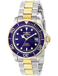 Invicta 9310 Pro Diver Reloj Unisex acero inoxidable Cuarzo Esfera azul