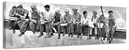 Lienzo decorativo panorámico, ciudad de Nueva York trabajadores II li