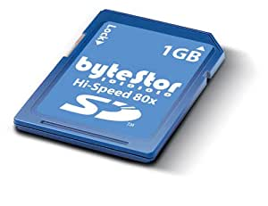 ByteStor 1GB SD High Speed  80X ( Secure Digital ) Card