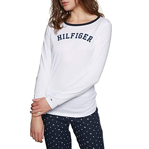 b417ea8455b107 Tommy logo hilfiger tops t shirts the best Amazon price in SaveMoney.es