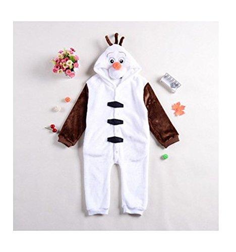 Imagen de disfraz pijama olaf niños  120 alternativa