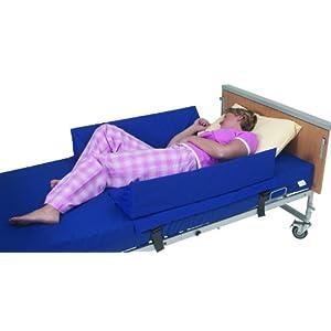 Keilkissen als Bettbegrenzung