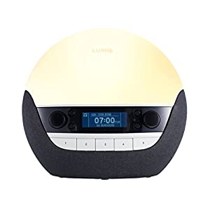 Lumie Bodyclock Luxe 700 - Wake-up Light with Bluetooth Audio and Low-Blue Sleep Light from LUMA4