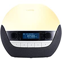 Lumie Bodyclock Luxe 700 - Wake-up Light with Bluetooth Audio and Low-Blue Sleep Light