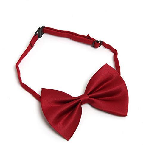 chöne Haustier Krawatte Einstellbar Hund Katze Bowknot Kragen Tier Krawatte Heimtierbedarf für Haustier Kostüm Outfit Verwenden Rot ()