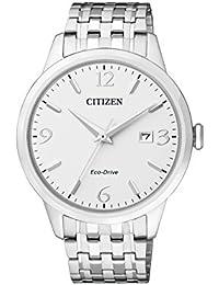Citizen Herren-Armbanduhr Analog Quarz Edelstahl BM7300-50A