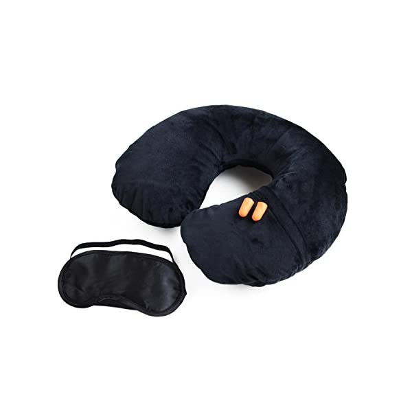 carino economico la migliore vendita prodotto caldo Cuscino da collo – Cuscino gonfiabile da viaggio con coperta ...