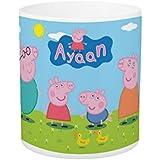 Dream Gifts Peppa Pig Mug With Name / Personalized Mug / Cartoon Mug / Return Gift / Kids Mug / Birthday Gift / Gift Mug