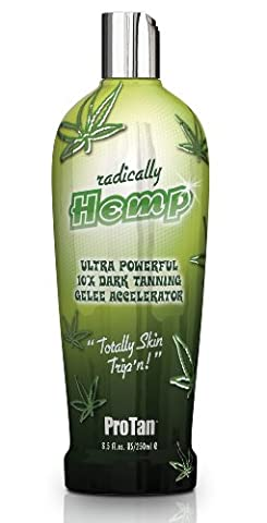 Pro Tan Radically Hemp Ultra Powerful 10X Dark Tanning Gelee Accelerator 250ml