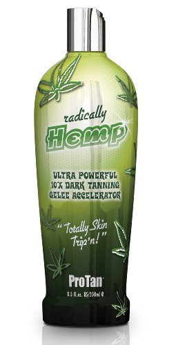 Tan Radically Hemp Ultra Powerful 10x Dark Tanning Accelerator 250ml (Dark Tanning Accelerator)