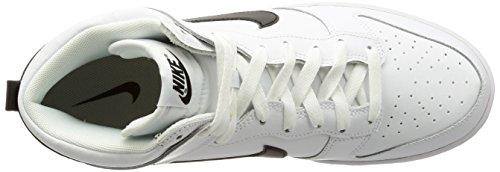 Nike Dunk Hi, Scarpe da Ginnastica Uomo Bianco (White/Black)