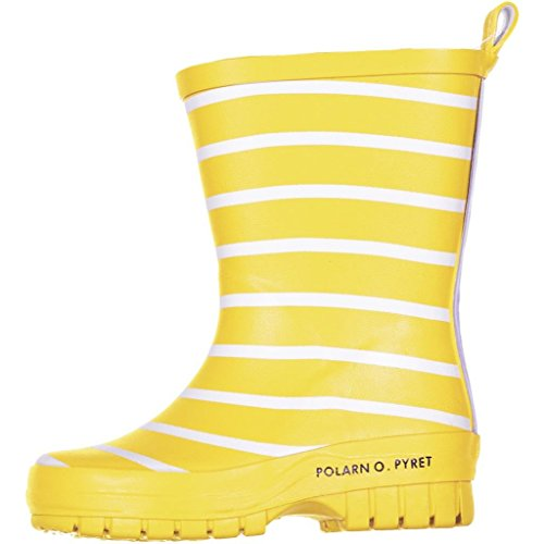 POLARN O. PYRET CLASSIC STRIPE RAIN BOOTS (2-6YRS)