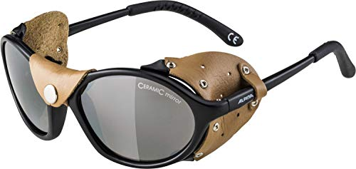 Alpina Unisex- Erwachsene SIBIRIA Sportbrille, schwarz, One Size