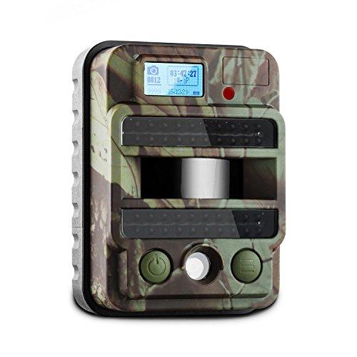 DURAMAXX GRIZZLY MAX PIR CAMARA DE VIGILANCIA Y OBSERVACION (40 LEDS  8 MP  VIDEO HD  USB  SD  PIR 100°  SENSOR MOVIMIENTO  FLASH INFRARROJO  CAMUFLAJE  INTEMPERIE) - NEGRO
