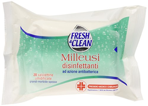 Fresh & Clean Salviette Disinfett.Pz.20