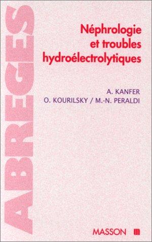 Nphrologie et troubles hydro-lectrolytiques