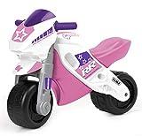 FEBER MotoFEBER Racing - Trotteur avec casque, pour filles de 18 mois à 3 ans,...