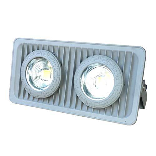 Grüne Innen-reflektor Flutlicht Lampe (LED-Flutlichtscheinwerfer, Sicherheit Draussen Wasserdicht Scheinwerfer Landschaftslicht Türkopf Dach Park Begrünung Fotobaum (Color : Warm white light-100W))