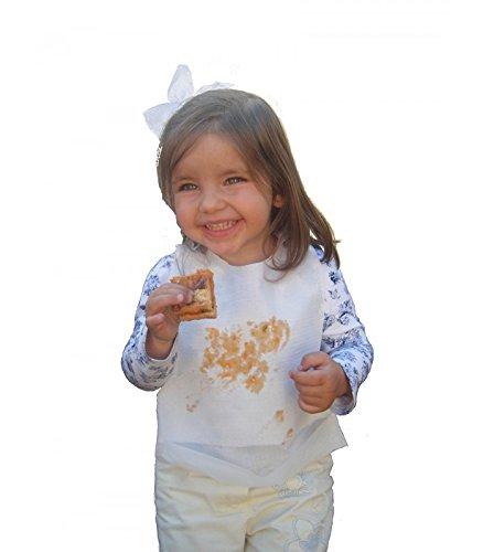 Babero infantil papel bolsillo recogelíquidos. Pack