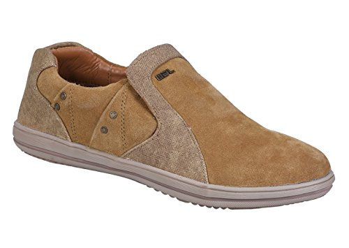 Woodland Men's Camel Moccasins - 8 UK/India (42EU)(GC 2216116)  available at amazon for Rs.1537