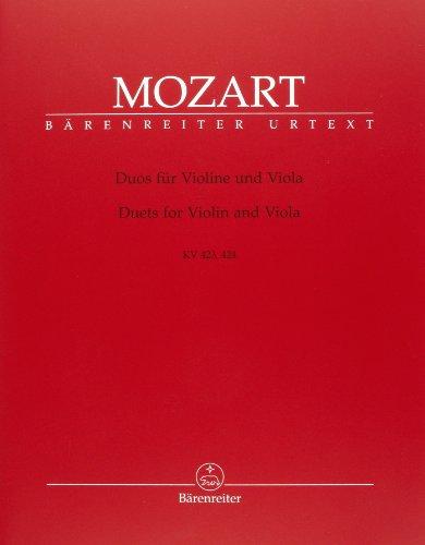 Duos pour violon et alto KV 423 et 424