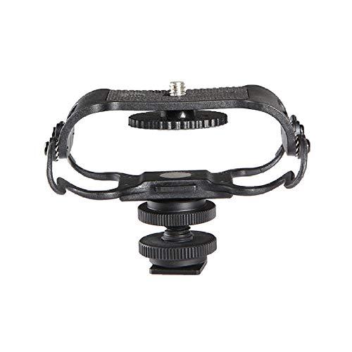 GHSUEBHL Staffa per smorzatore microfono per zoom H4n / H5 / H6, per videocamera per smorzatore registratore