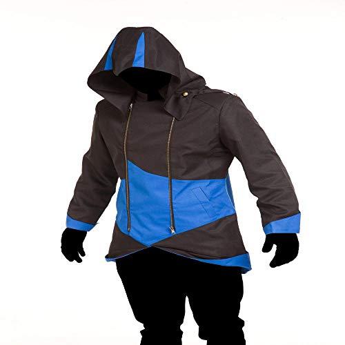 Weiblich Assassins Creed Kostüm - Noble Cosplay Assassins Creed Jacke Anzug Strumpfhosen 3D Digitaldruck Engen Weihnachten Halloween Kostüm Für Erwachsene/Kind Tragen C-Adult-XXL