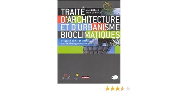 traité darchitecture et durbanisme bioclimatiques