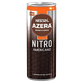 NESCAFÉ AZERA Nitro Americano Cold Coffee, 192 ml (Pack of 12)