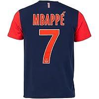 PARIS SAINT GERMAIN T-Shirt PSG - Kylian MBAPPE - N°7 - Collection Officielle Taille Enfant