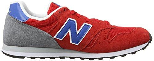 New Balance ml Wl373v1, Baskets Basses Homme Rouge (Red/Gray/Blue)