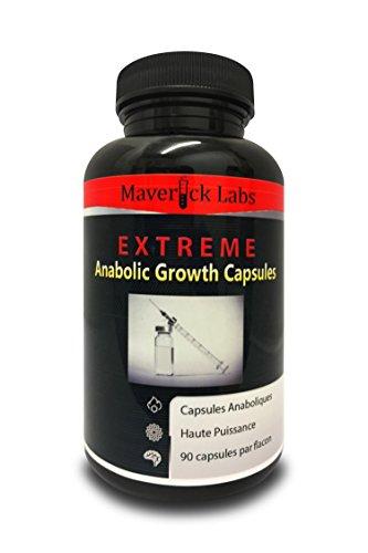 Capsules Anabolisantes Puissantes (*Weight Gainer*) pour Gagner du Poids et de la Masse - Pour obtenir plus de Muscles, plus de Force et plus de Puissance - 90 Capsules