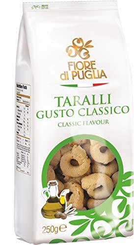 Fiore di Puglia-Taralli-Box misto contenente 14 confezioni diverse da 250 gr.