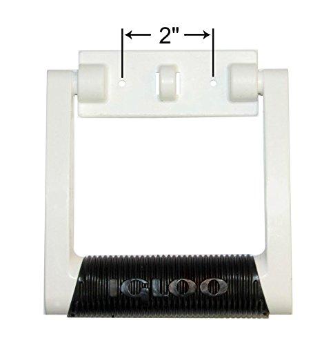 Schwenkbarer Griff (Igloo Premium Comfort Gummigriff, schwenkbar, 25-75 Qt Kühler, Weiß, 1 Stück)