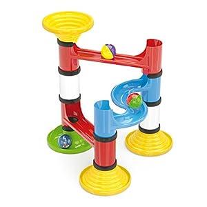 Quercetti 6502 Circuito de canicas Juguete de construcción - Juguetes de construcción (Circuito de canicas,, 1,5 año(s), 22 Pieza(s), Niño/niña, Niños)