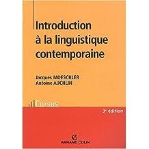 Introduction à la linguistique contemporaine