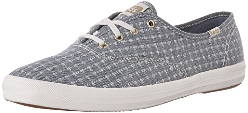 Keds Ch Foil Ticking Dot, Scarpe Running Donna Blu (Dark Blue)