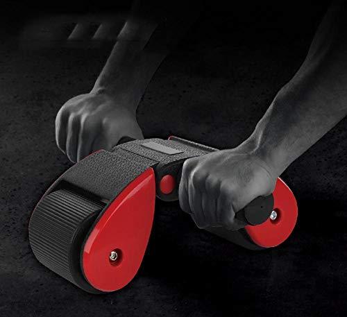 Olydmsky Wheel Bauchtrainer Klappbare Bauchmuskel Maschine gesunden Bauch stumm Heimfitness Geräteausstattung ABS Rad