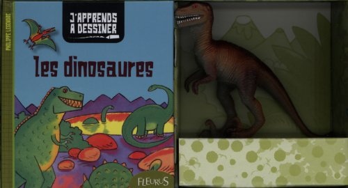 Mon coffret J'apprends à dessiner - Les dinosaures