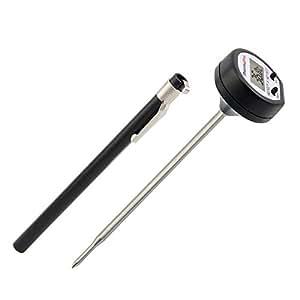 Thermopro tp01 termometro digitale da cucina con sonda lunga e schermo lcd lettura istantanea - Termometri da cucina ...