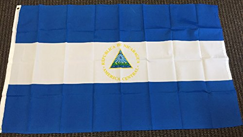 3x5 Nicaragua Flag Nicaraguan Banner Central American Pennant Bandera Outdoor -